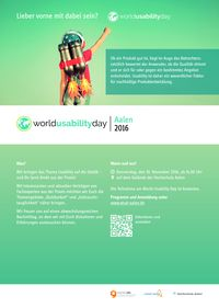 Thumb world usability day 2