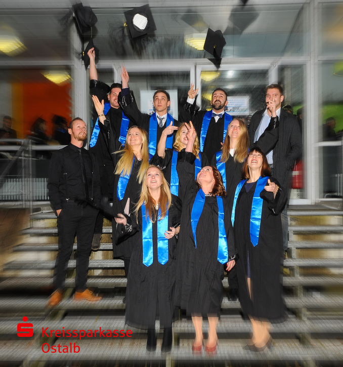 PhD students Graduation Aalen University