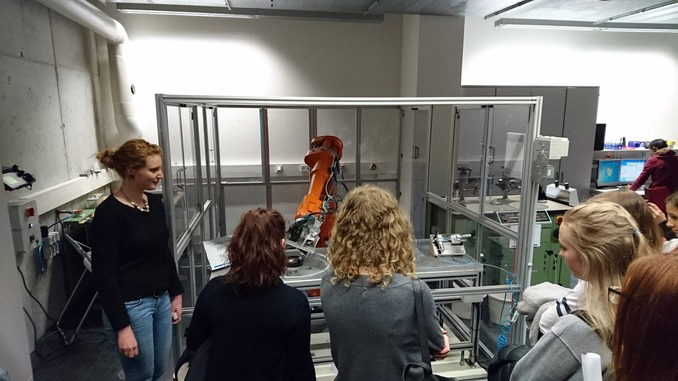 Girls´Day: So funktioniert ein Roboter