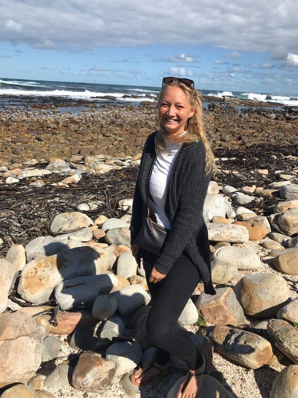 Anna-Maria Hengster is spending her last semester in South Africa