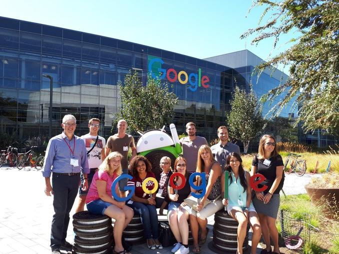 MBD visiting Google in Silicon Valley