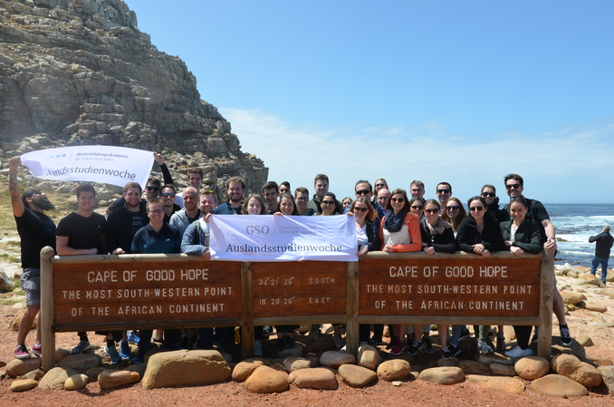 The students of the part-time degree programmes at the Cape of Good Hope.