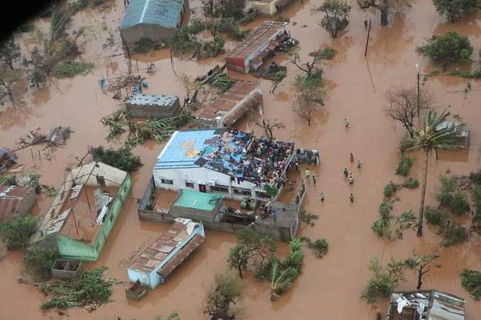 "The cyclone ""Idai"" destroyed wide areas of Beira. (Picture: German-Mozambican Society e.V.)"