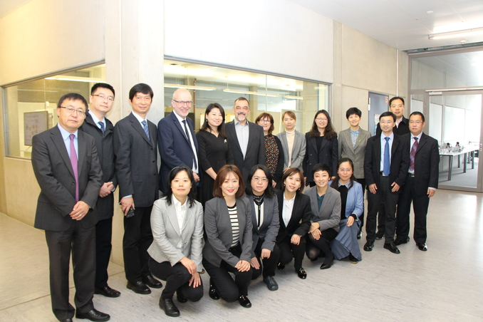 Chinese Researchers from Peking inquired about Sustainable City Development at the University