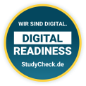 Digital Readiness Auszeichnung StudyCheck.de