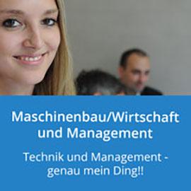 Maschinenbau/Wirtschaft und Management: Technik und Management - genau mein Ding!!