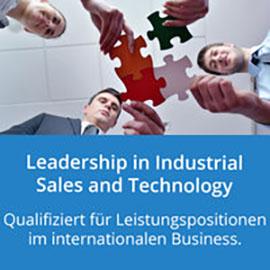 Leadership in Industrial Sales and Technology: Qualifiziert für Leistungspositionen im internationalen Business.