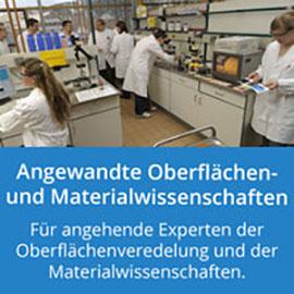 Angewandte Oberflächen- und Materialwissenschaften: Für angehende Experten der Oberflächenveredelung und der Materialwissenschaften