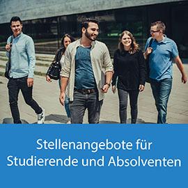 Stellenangebote für Studierende und Absolventen