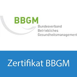Zertifikat BBGM