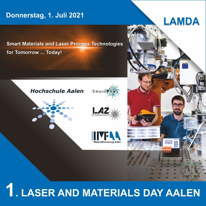 LAMDA - 1. Laser and Materials Day Aalen