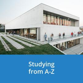 Studieren von A-Z